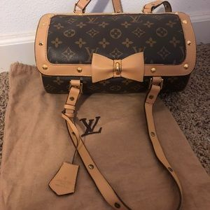 Louis Vuitton Bow Speedy 🎀